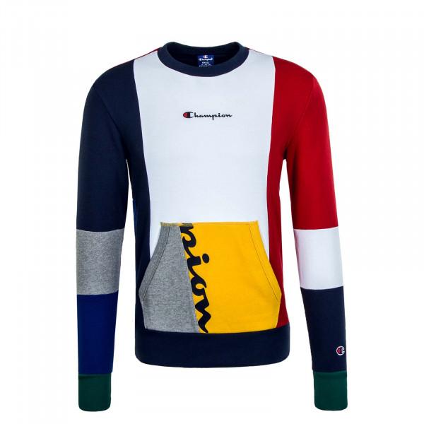 Herren-Sweatshirt 354 Navy White Red