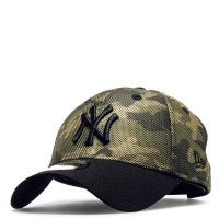 New Era Cap 9Forty NY Camouflage Green