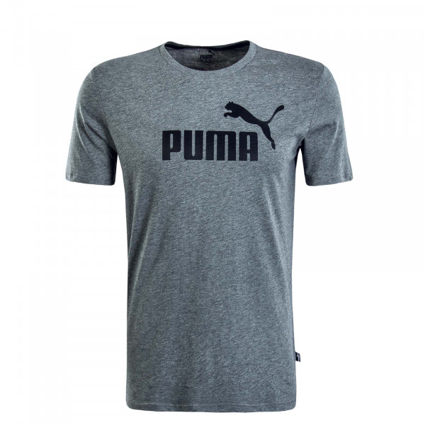 graues Herren T-Shirt Logo Grey