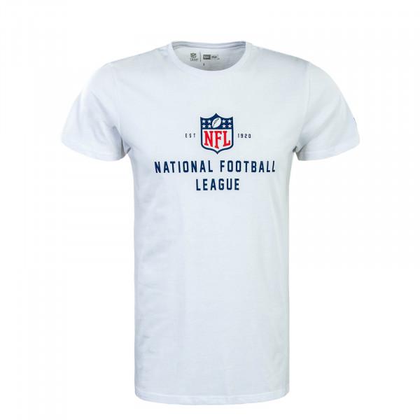 Herren T-Shirt NFL League Established Wht