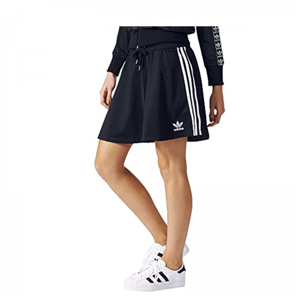 Adidas Skirt 3 S Black White