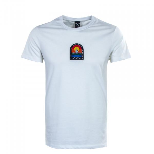 Herren T-Shirt  Stonefinger White
