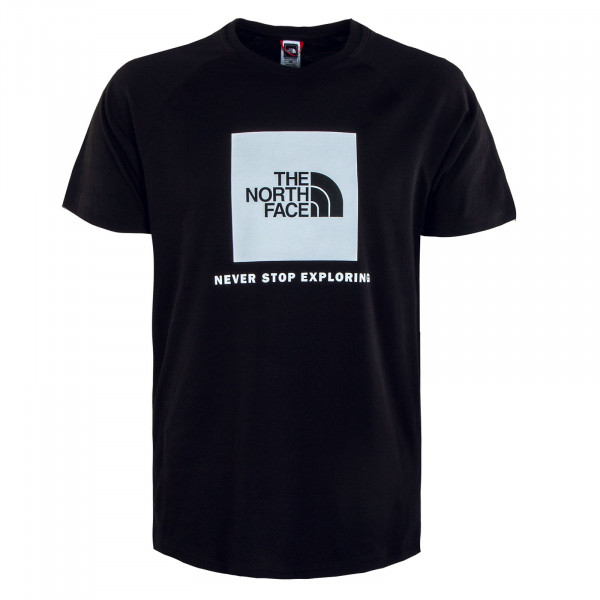 T-Shirt Rag Red Box Black Red
