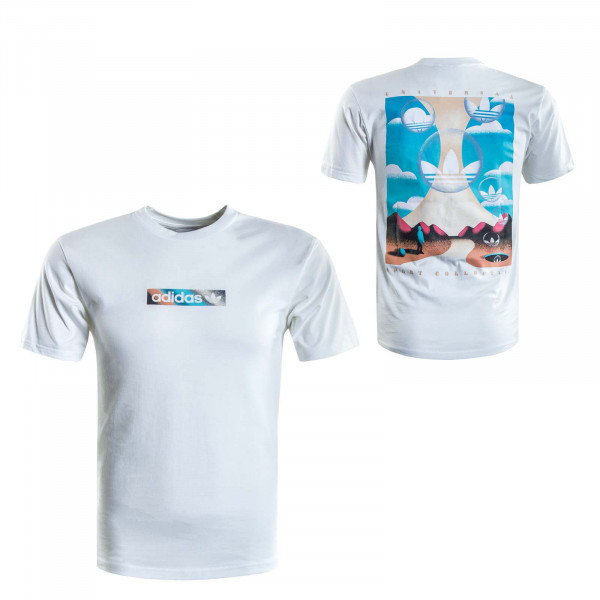 Herren T-Shirt - Summer Box Line - White