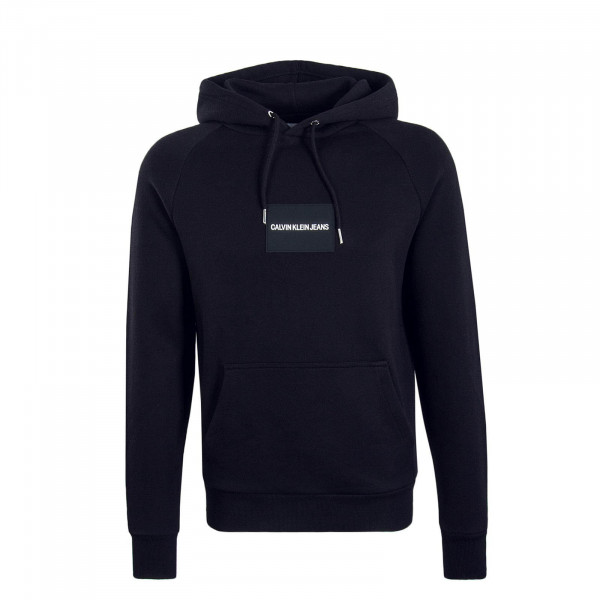 Herren Hoody Colour Block Black White