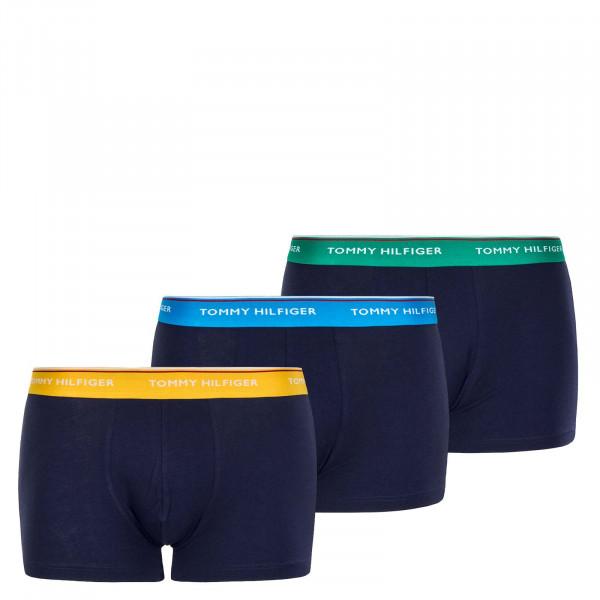 3er-Pack Boxershort 1642 Navy Green Blue Yellow