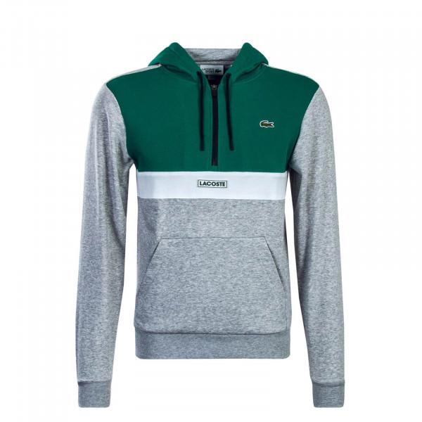 Lacoste Hoody SH3505 Green Grey