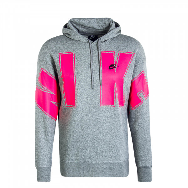 Herren Hoody SC Fleece Grey Pink