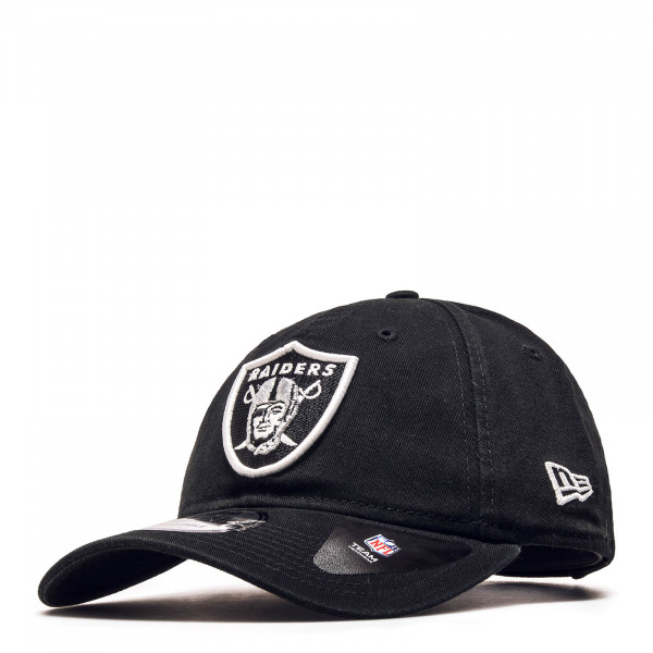 New Era Cap 9Twenty Raiders Black White