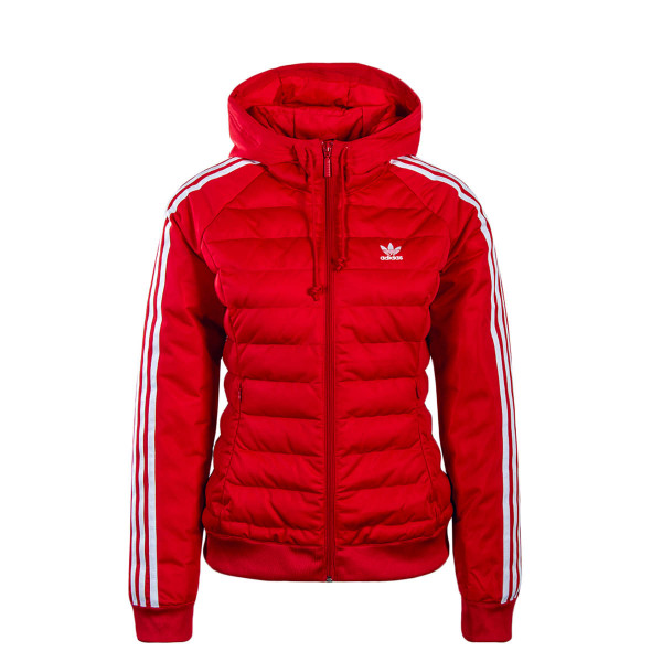 Adidas Wmn Jkt Slim Red White