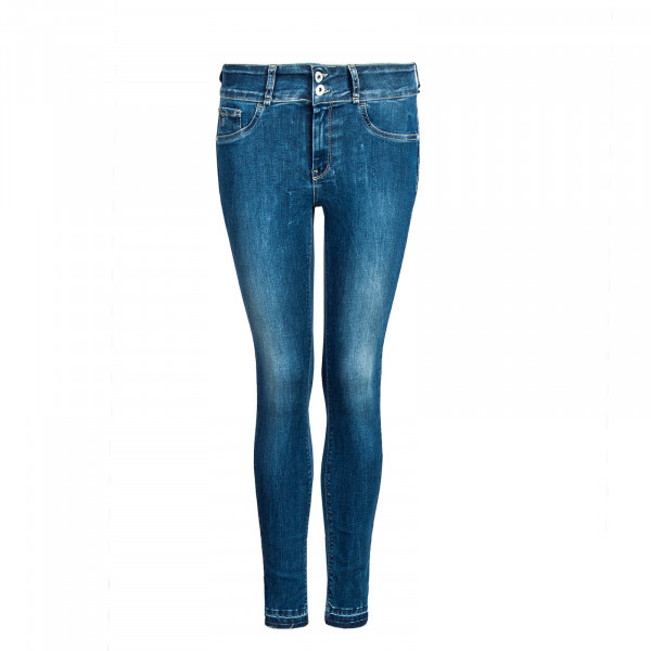 Damen Jeans Double Up 15 Blue