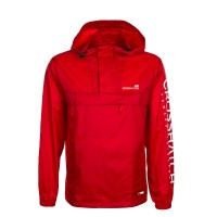 Crosshatch Windbreaker Rufaro Red