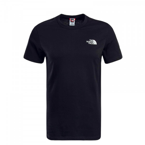 Herren T-Shirt Simple Dome Black