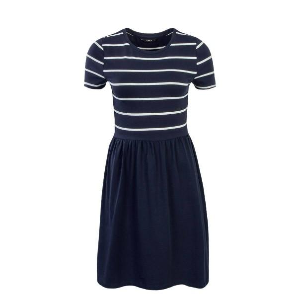 Only Dress Amber Stripe Navy White