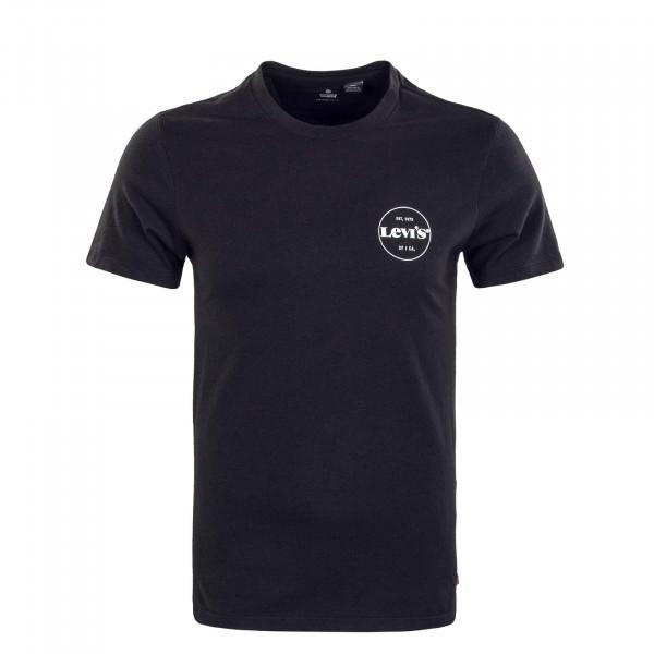 Herren T-Shirt - Graphic Coolmax - Black