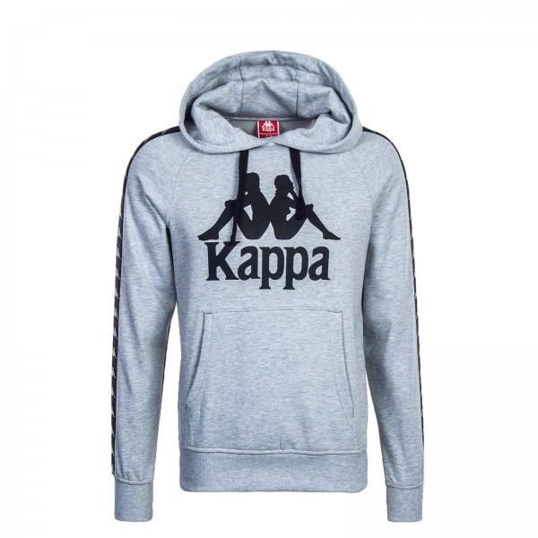 Kappa U Hoody Tello Grey Black