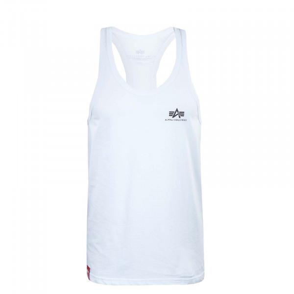 Herren Tank Top - Basic BB SL - White