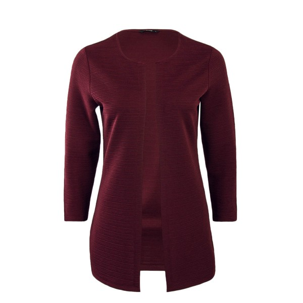 Only Cardigan Leco Wine Red