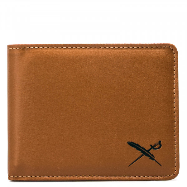 Wallet Mixed Flag Caramel