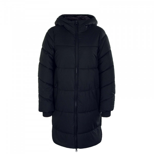 Damenmantel Sienna Long Puffer Coat Black