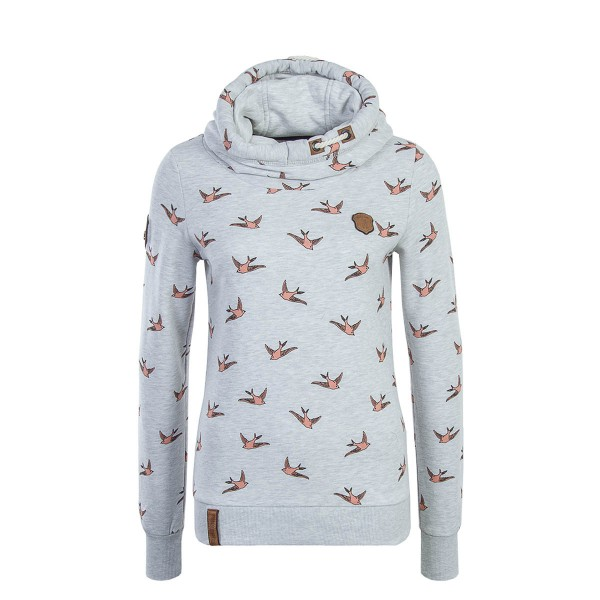 Naketano Wmn Hoody The Gift Grey