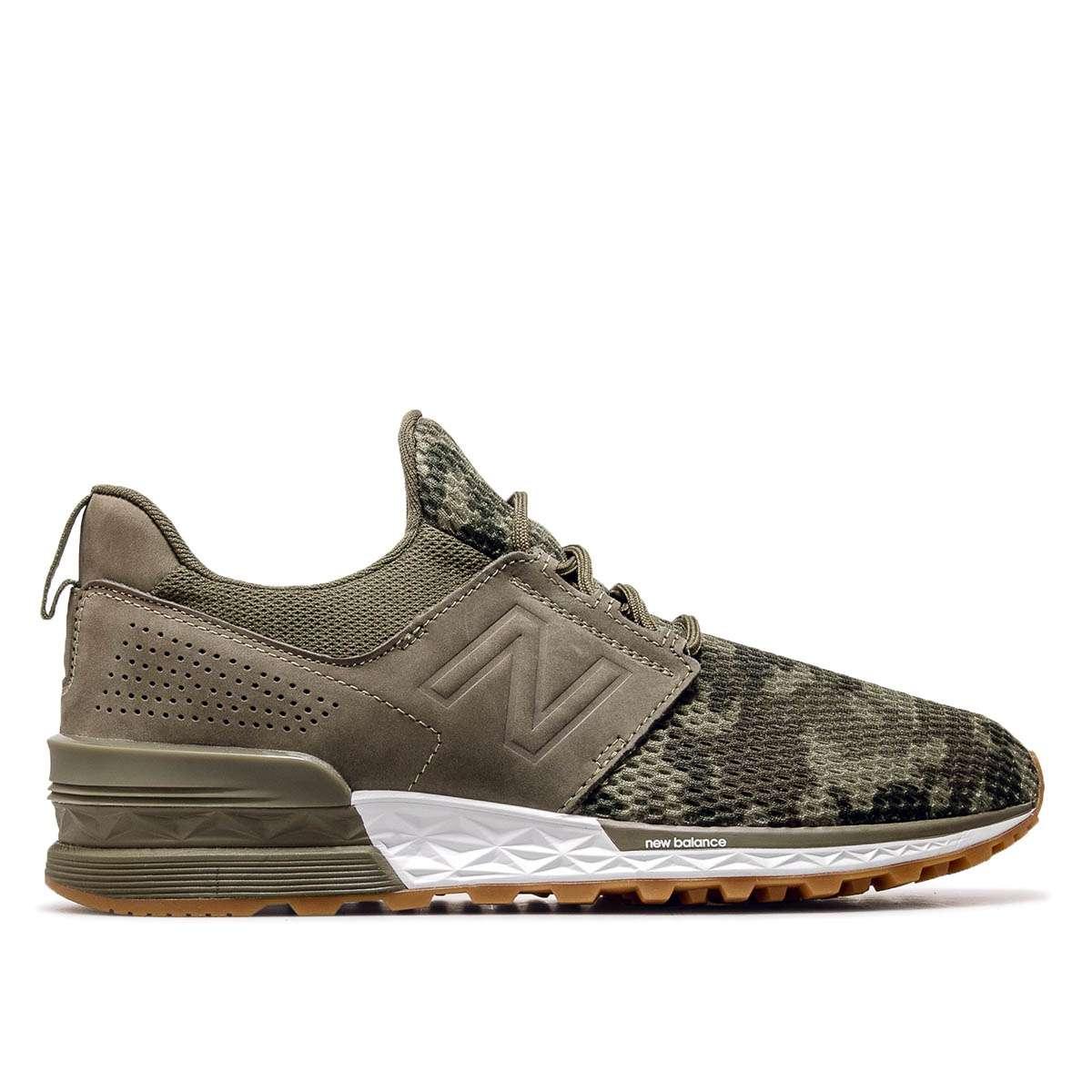 fb0a758e6541f8 Herren Sneaker in grün von New Balance online kaufen ...