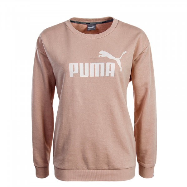 Puma Wmn Sweat ESS No.1 Peach Beige