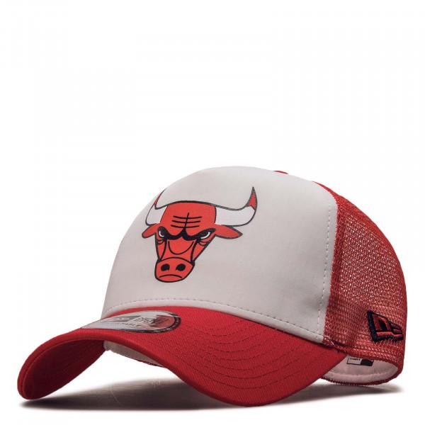 Trucker Team Colour Block Chicago Bulls White Red