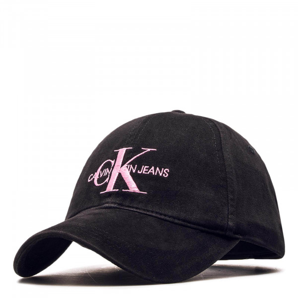 CK Cap Monogram Black Rose