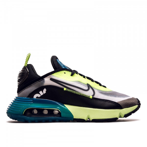 Herren Sneaker Air Max 2090 White Black Volt Blue