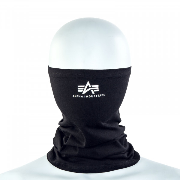 Basic SL Tube Mask - Black / White