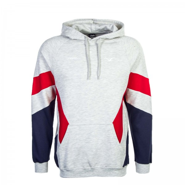 Clepto Hoody That 2 Grey Red Navy