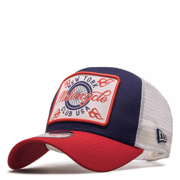 Cap Trucker Motor Club Navy Red