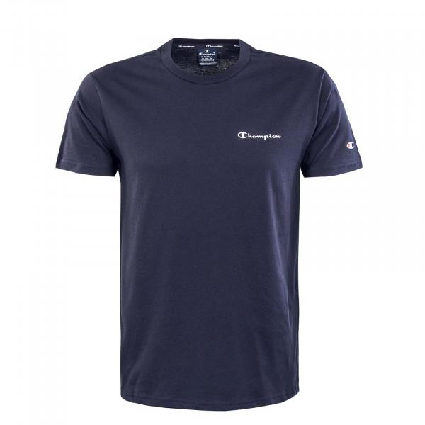 Herren T-Shirt - Crewneck - Navy