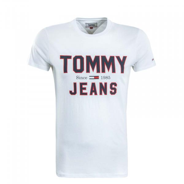Herren T-Shirt 7067 White Black Red
