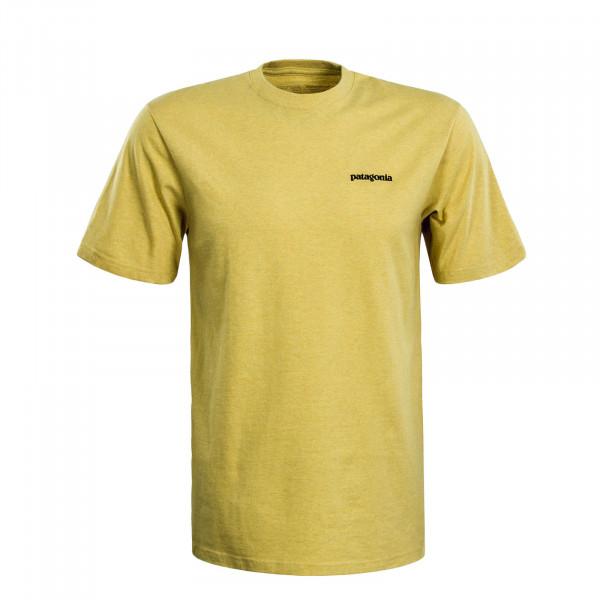 Herren T-Shirt P6 Logo Responsibili Yellow