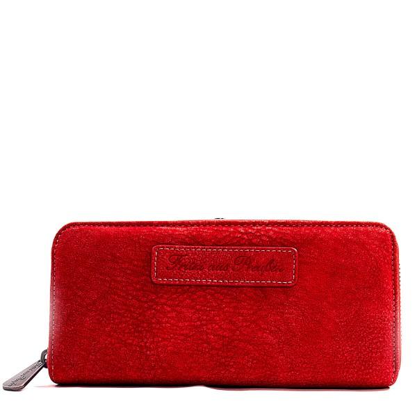 Fritzi Wallet Nicole Kuba Red