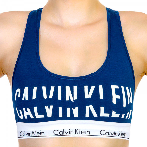 Calvin Klein Wmn Bralette Royal White