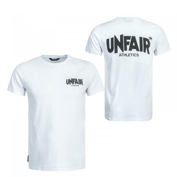 Herren T-Shirt Classic Label White