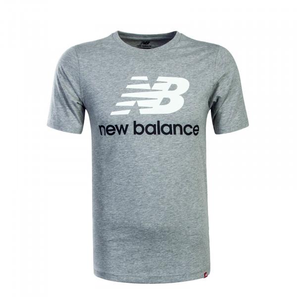 Herren T-Shirt MT83530 Grey White