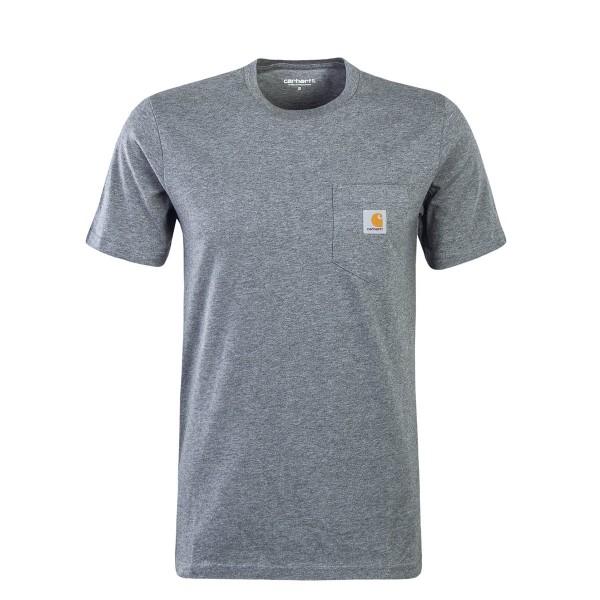 Carhartt TS Pocket Single Jersey Dk Grey
