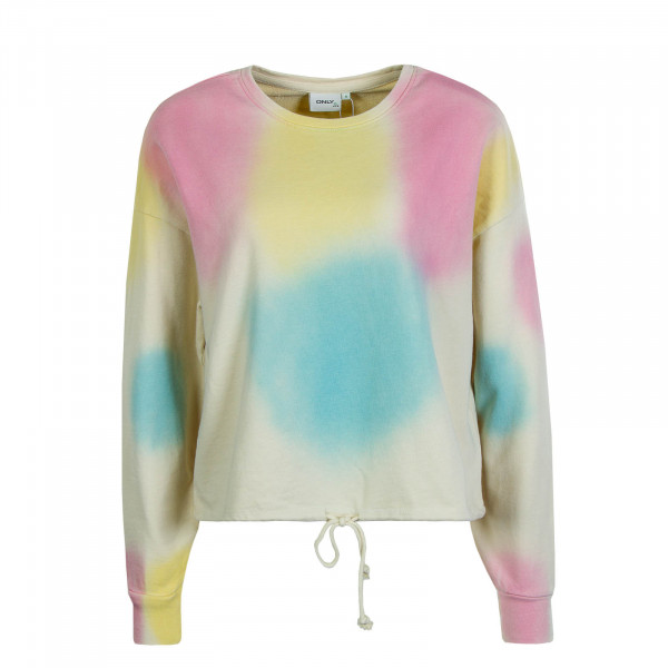 Damen-Sweatshirt Candy Beige Yellow Rose Blue