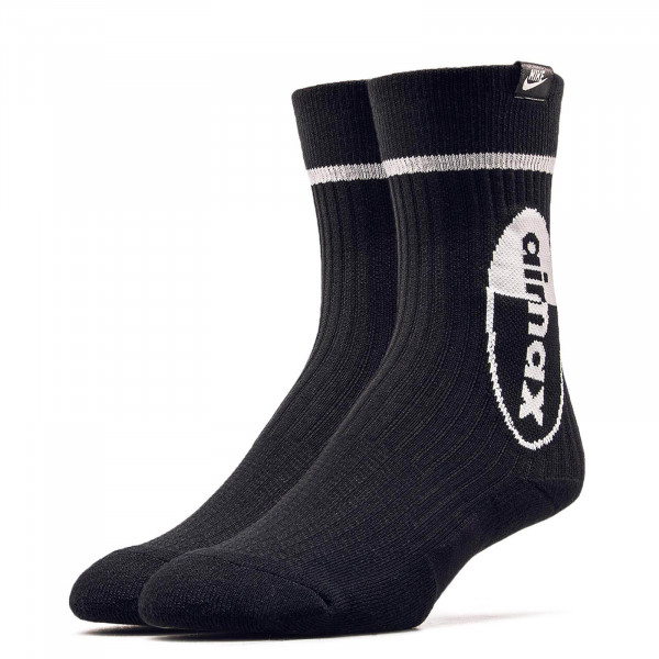 Nike Socks 2Pk Air Max Black White