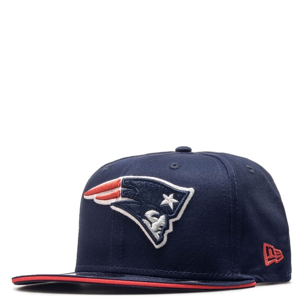 New Era 9Fifty Team Patriots Navy Red