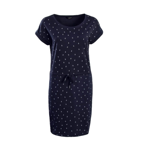 Only Dress Amber Navy Anchor White