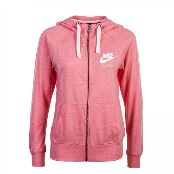 Nike Wmn Sweatjkt Gym Pink