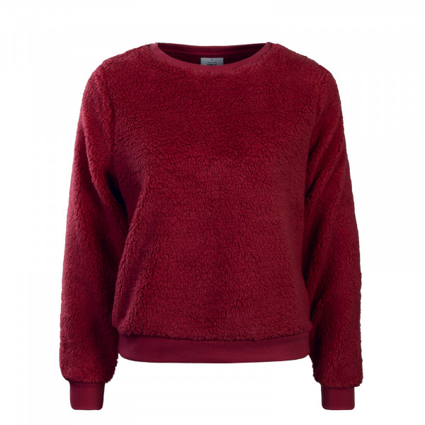 Damen Sweatshirt Fleece Rosa