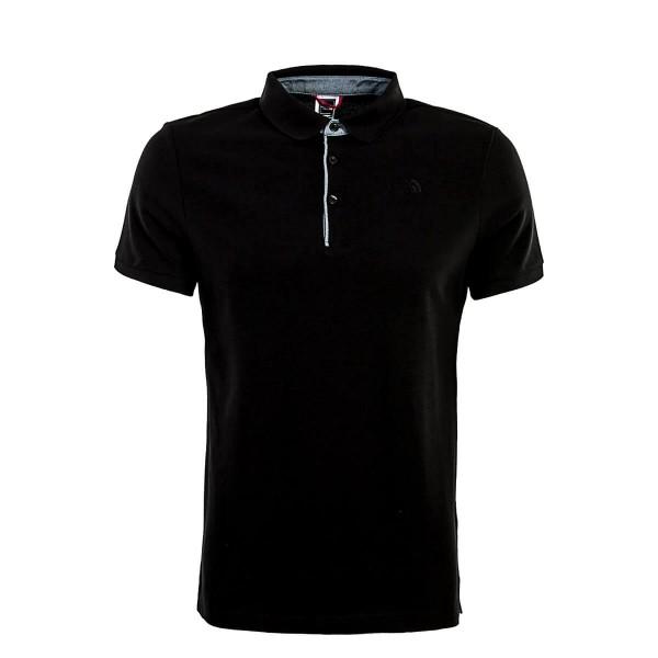 Northface Polo Premium Pique Black