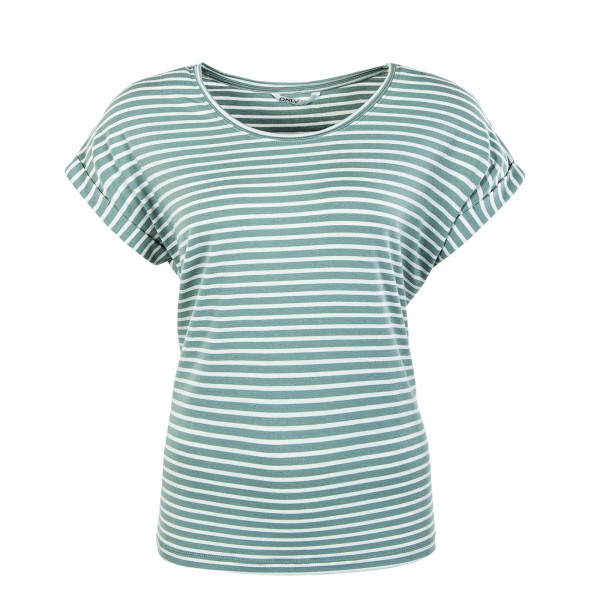 Damen Shirt - Onlmoster Stripe - Jadeite Cloud