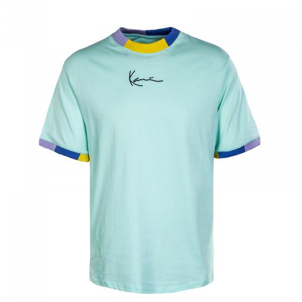 Herren T-Shirt - Small Signature - Mint
